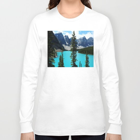 Moraine Lake, Canada Long Sleeve T-shirt