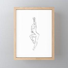 Zodiac Dancer Virgo Framed Mini Art Print