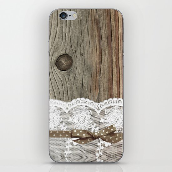 FRENCH LACE iPhone Skin