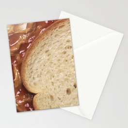 Peanut Butter and Jelly Sandwich Stationery Cards