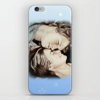 fault in our stars iPhone & iPod Skins featuring The Fault in Our Stars by Francesca Cosentino