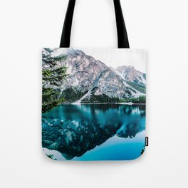 Reflected Peaks Tote Bag
