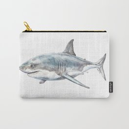 Shark-Filled Waters Carry-All Pouch