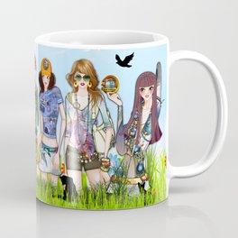 Trendy Fashion Models Coffee Mug