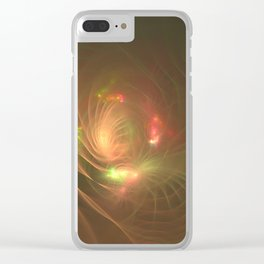 Light from the inside Clear iPhone Case