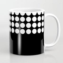 Black and white polka dot .2 Coffee Mug