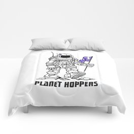 planet hoppers Comforters
