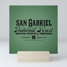 San Gabriel National Forest Mini Art Print