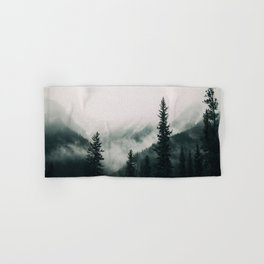 Over the Mountains and trough the Woods -  Forest Nature Photography Hand & Bath Towel