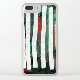 birch Clear iPhone Case