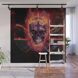DEATH METAL Wall Mural
