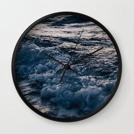 Liquid Sunset Wall Clock