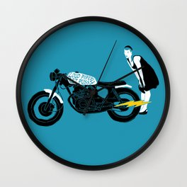loud pipes Wall Clock