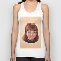 roald dahl Tank Tops featuring Matilda by Shannon Forringer