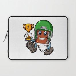 American FOOTBALL CHAMPION Trophy Son Present Laptop Sleeve