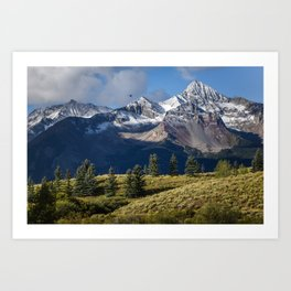 Telluride in the Fall Art Print