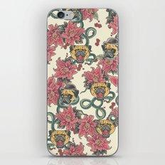 Snake and Pug iPhone & iPod Skin