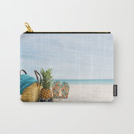 Beach accessories by the sea Carry-All Pouch