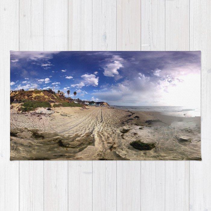 Crystal Cove Beach 360 Rug
