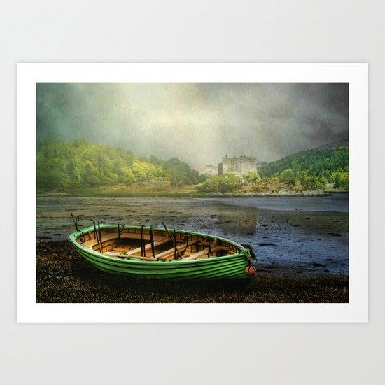 Loch Moidart Scotland Art Print