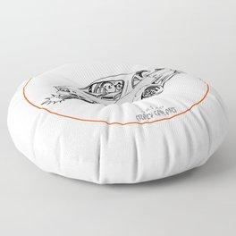 Crazy Car Art 0205 Floor Pillow
