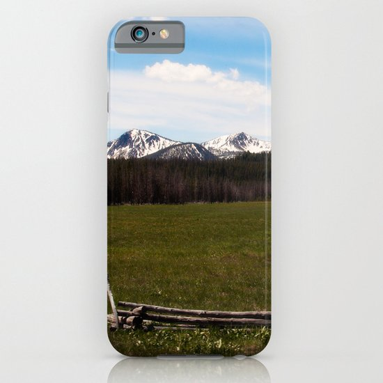 mountains. iPhone & iPod Case