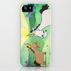 Grazing Unicorns V02 iPhone (5, 5s) Slim Case