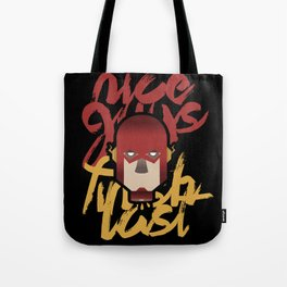 The flash is dead Tote Bag