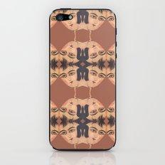 Persian Qajar Painting Polygon iPhone & iPod Skin