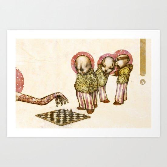 Candy Kids Art Print