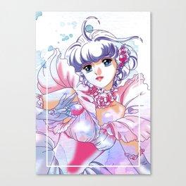 Magical Angel Creamy Mami Watercolor Canvas Print
