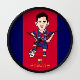 Lio Messi - Barcelona v2 Wall Clock