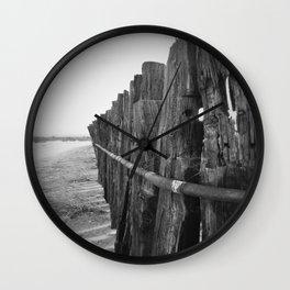 Sun Decayed Corral, Angle 3 Wall Clock