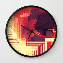 Solar Canyons Wall Clock