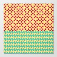 prism Canvas Prints featuring prism by eddiek3