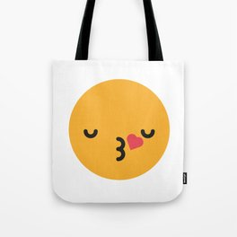 Emojis: Kiss Tote Bag