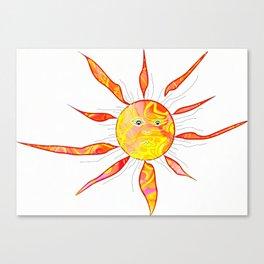 Sunny days Canvas Print