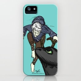 Flying Friends iPhone Case