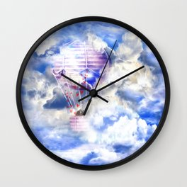 Siebenter Himmel Wall Clock