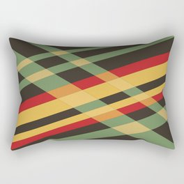 Welcome to the Past #01' Rectangular Pillow