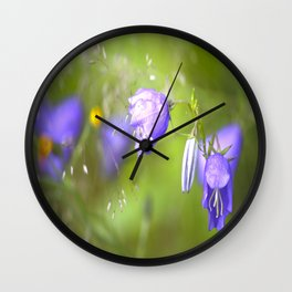 Bluebells Meadow #decor #society6 Wall Clock