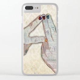 Alt-J Fan Art Clear iPhone Case