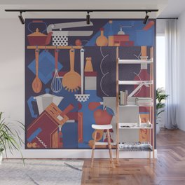 The Kitchen Wall Mural