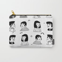 People Avatar | Pattern Art Carry-All Pouch