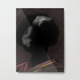 37- Indira & her Hair Metal Print