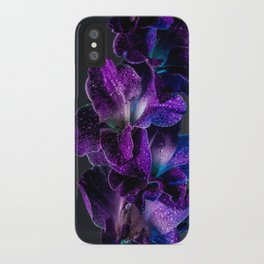 Blue and Purple  iPhone Case