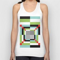 illusion Tank Tops featuring Illusion by Susana Paz