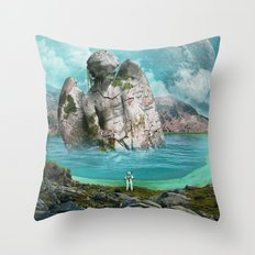 the find Throw Pillow