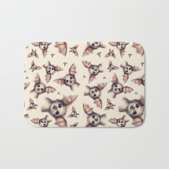 What the Fox - Pattern Bath Mat