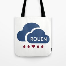Rainy Rouen (2) Tote Bag